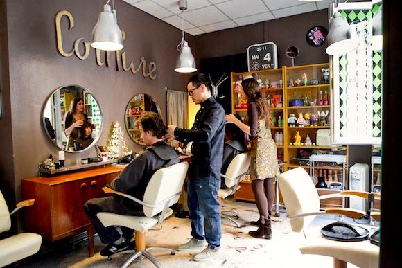 image salon de coiffure Bastille