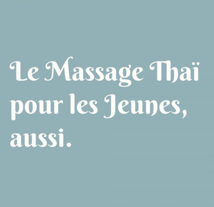 Image massage thai pour enfants