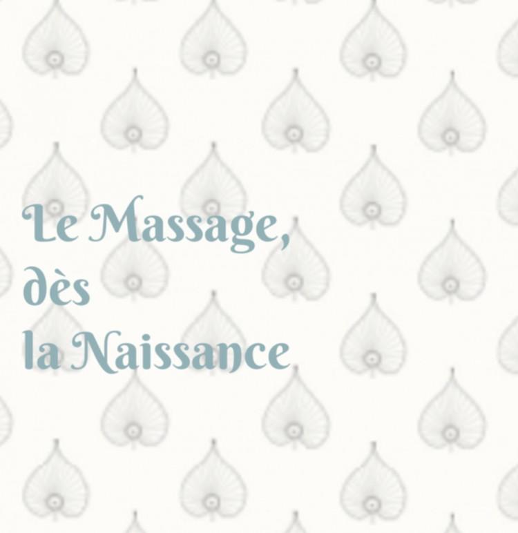 Image le massage dès la naissance